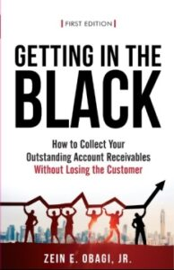 book cover, Getting in the Black